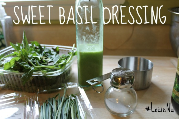 Sweet SBasil Dressing
