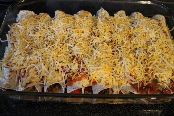Family Night Enchiladas