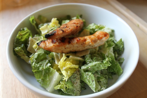 Grilled Chicken Cesear Salad