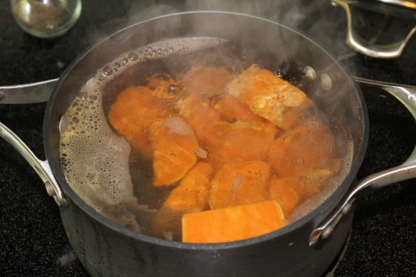 Add to boiling water, boiled for 20 min.