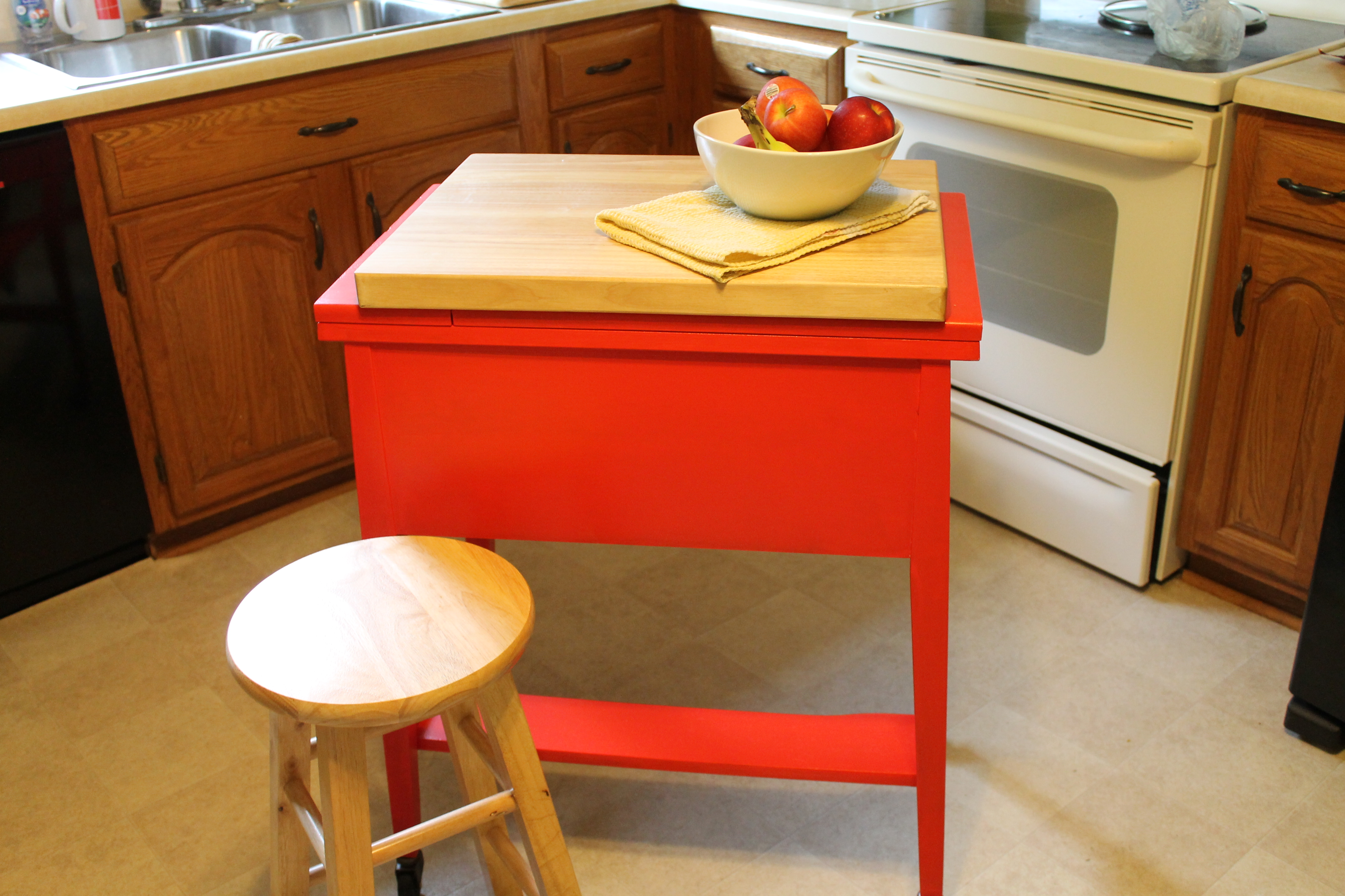 Diy Kitchen Island Louienu