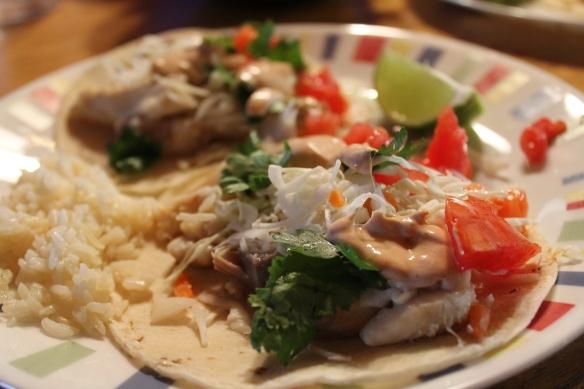 Spicy Fish Tacos