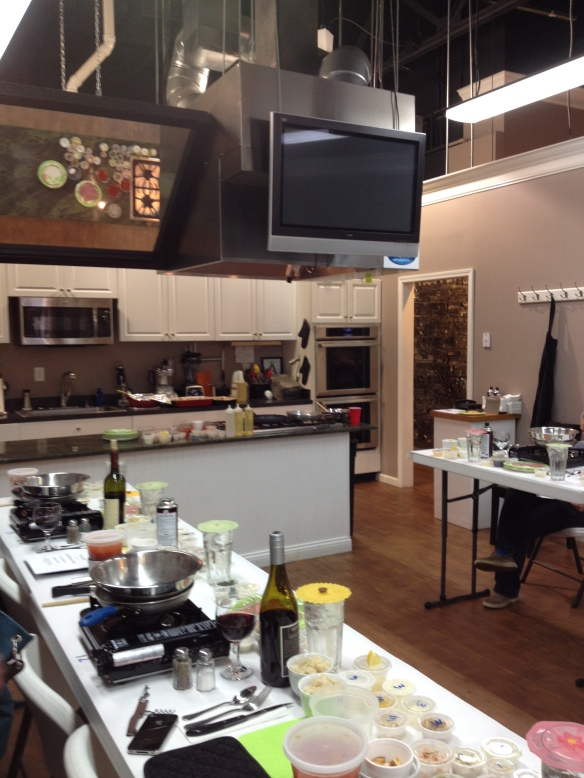 Beautiful teaching kitchen!