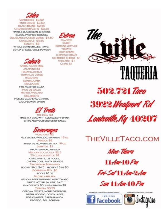 The Ville Taqueria